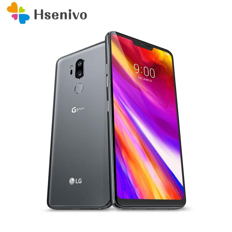 LG G7 ThinQ Восстановленный-оригинальный G710N G710VM 64 Гб/128 Гб 4G Snapdragon 845 LTE A
