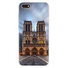Catedral de Notre-Dame en Paris For iPhone 11 Pro 4 4S 5 5S SE 5C 6 6S 7 8 X XR XS Plus Max For iPod Touch Silicone Phone Covers