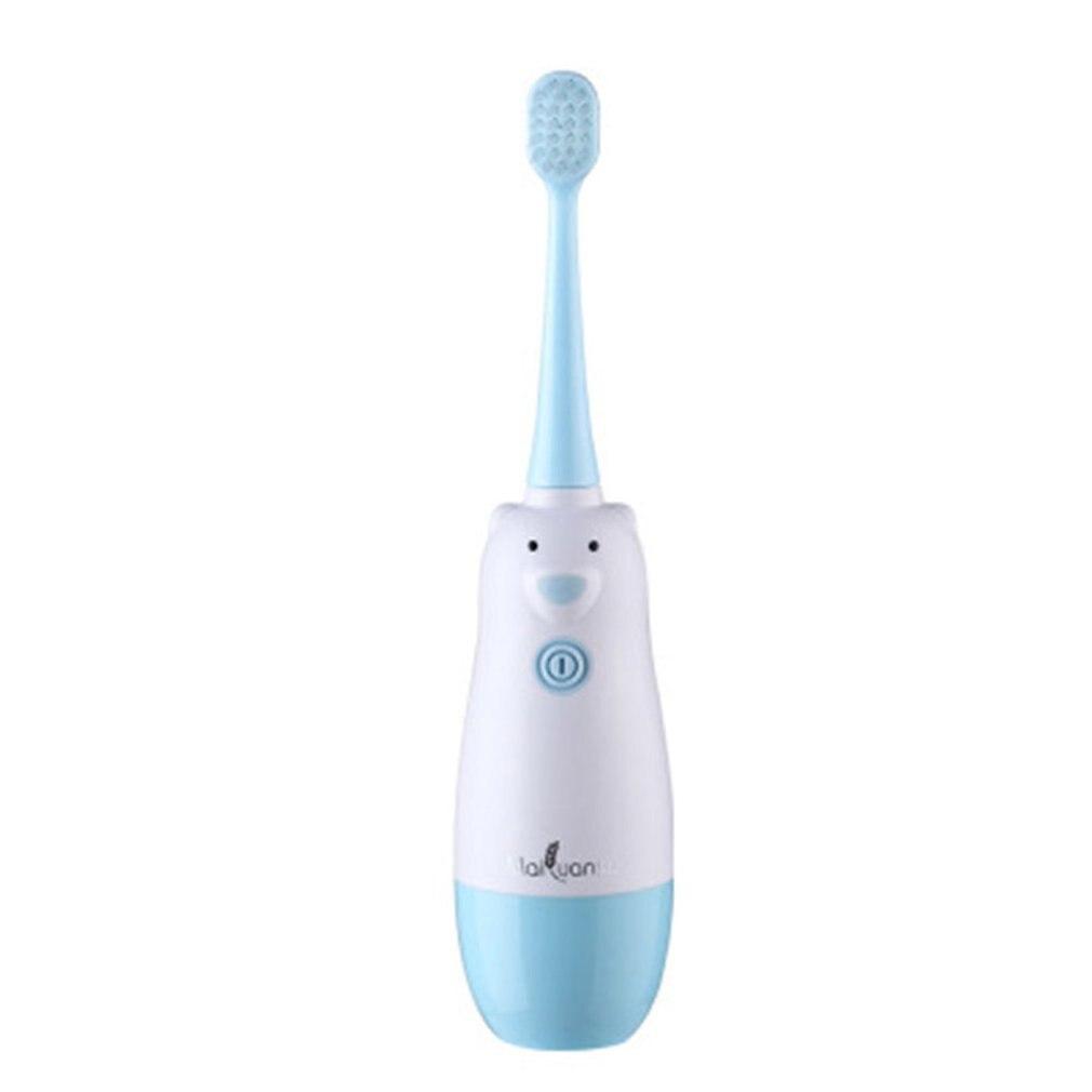 Brosse à dents électrique automatique pour enfants, accessoire de soins dentaires pour bébé, cheveux doux étanches ipx7