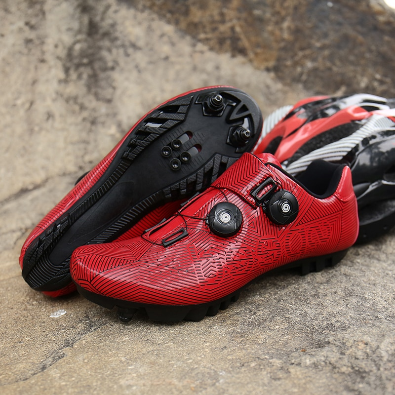 Cycling Shoes Men SPD Road Bike Shoes Professional Outdoor Self-Locking Mountain Racing Sapatilha Ciclismo MTB Bicycle Sneakers