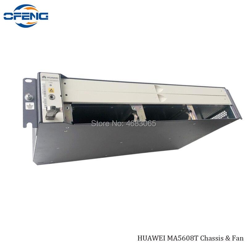 Бесплатная доставка huawei OLT MA5608T шасси и вентилятор, Hua Wei терминал de linha optica