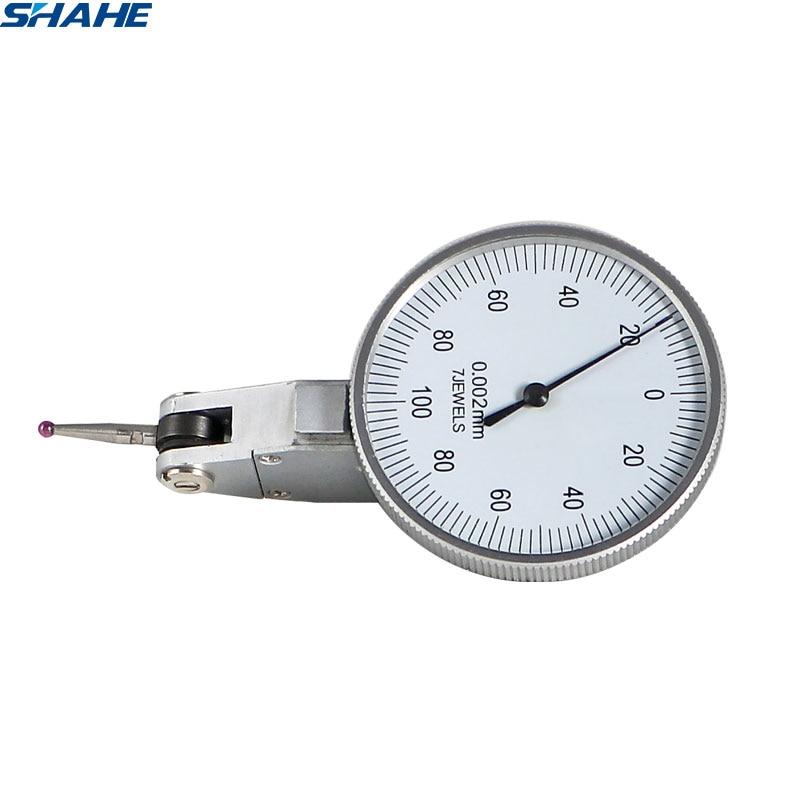 Shahe الطلب اختبار مؤشر 0.002 مللي متر مؤشر الاتصال للصدمات مقياس الطلب اختبار مؤشر قياس قياس أداة قياس