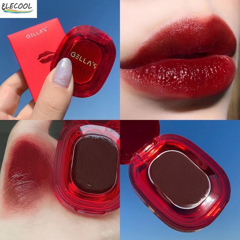 ELECOOL 7 Colors Ice Crystal Lip Balm Moisturizing Lipstick Long Lasting Waterproof Not Easy To Stai