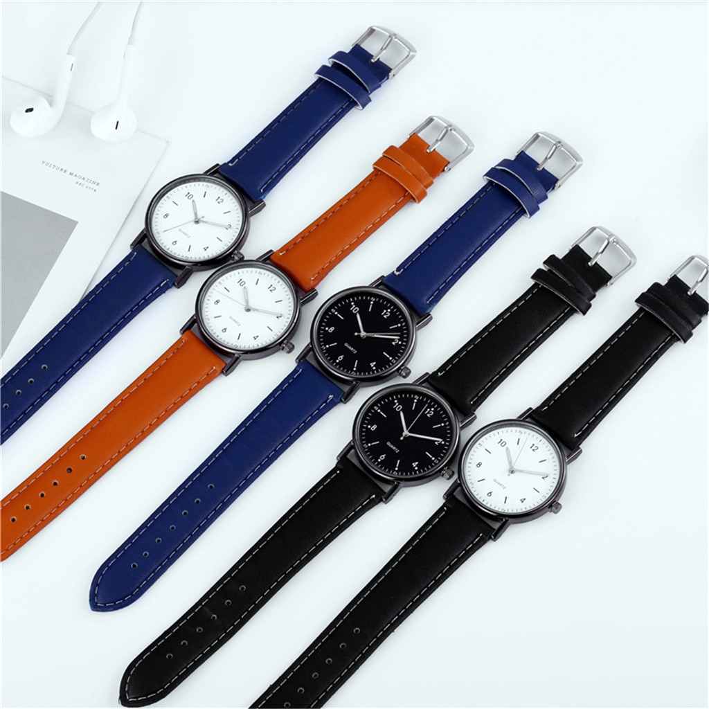 Ladies High-end Quartz Watch Unisex Stainless Steel Luminous Dial Leisure Watch Minimalist Trendy Pa