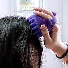 1pc Magic Hair Brush Scalp Massage Comb Portable Soft Silicone Shampoo Brush Soft Silicone Scalp Car