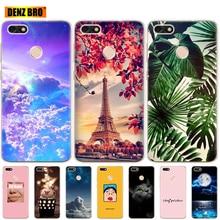 "Silicon 5.0""For Huawei P9 Lite Mini Case Cover Soft phone For Huawei Nova lite 2017 SLA-L22 Back Huawei Y6 Pro 2017 Case bumper"