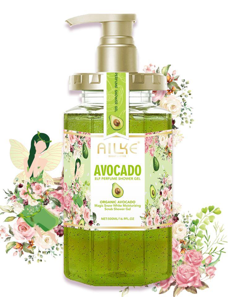 AILKE Shower gel women body wash care lotion bath foam female Whitening original fragrant Moisturizing summer organic wholesale