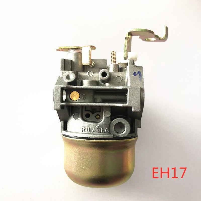 Montaje de carburador EH17 para EH17-2 FG200 172CC RAMMER CARBY RGV2800 KAWASAKI generador INDUSTRIAL partes de equipos de energía