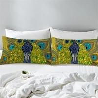 50x90cm 2 piece animal pillowcase cartoon pillow cover purple microfiber fabric soft pillow case