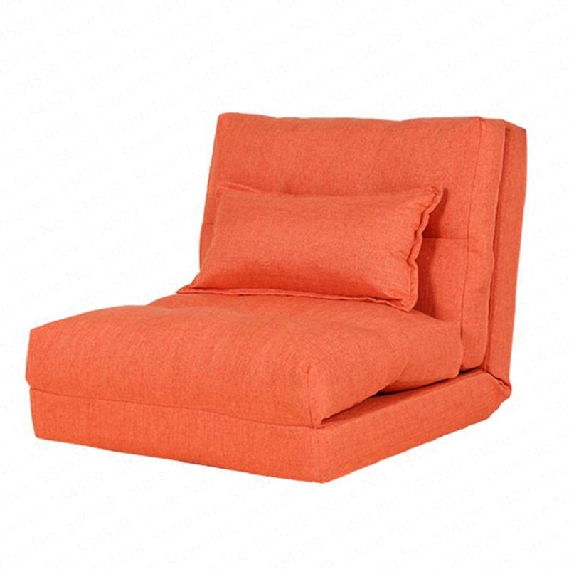Sofá plegable creativo para sala de estar sofá cama Simple dormitorio individual pequeño sofá pequeño piso de apartamento sofá reclinable