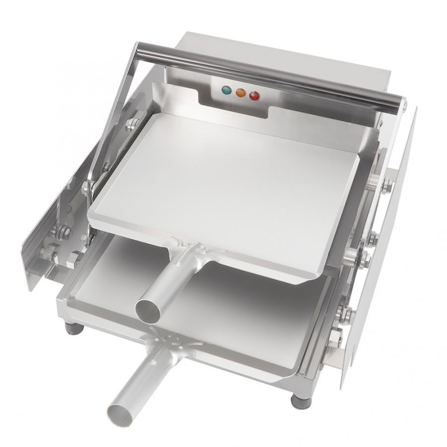 Breskfast-صانعة خبز كهربائية أوتوماتيكية بالكامل ، أدوات صنع الخبز ، شواية ، آلام ، طبقة مزدوجة ، همبرغر ، كعكة ، همبرغر