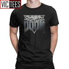 Camiseta para hombre Doom Eternal 100 algodón Premium camiseta juego Conan bárbaro Thulsa Snake Cult camiseta ropa 3D impresa
