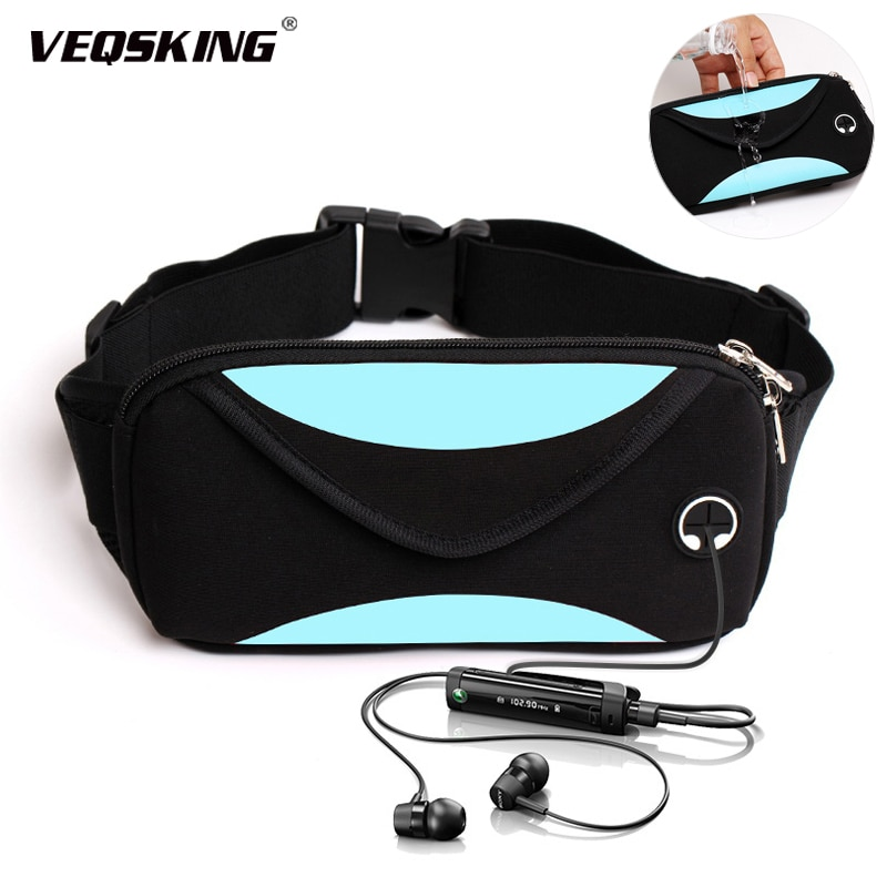 Unisex Waterproof Running Waist Bag, Sport Waist Pack, Mobile Phone Holder Bag, Gym Fitness Bag, Sport Running Belt Bag