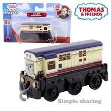Thomas e amigos pista mestre motores 1/43 noor jehan liga de metal fundido magnética trem modelo crianças brinquedo presente