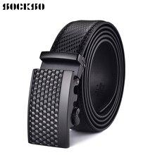 2019 Fashion Automatic Buckle New Brand Men's Belts Luxury Man Fashion Belt for Men High Quality  Male belts PK3003