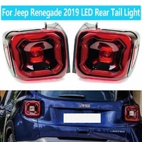 high quality for jeep renegade 2019 led rear tail light turn signal brake stop driving fog lamp plug and play car assembly