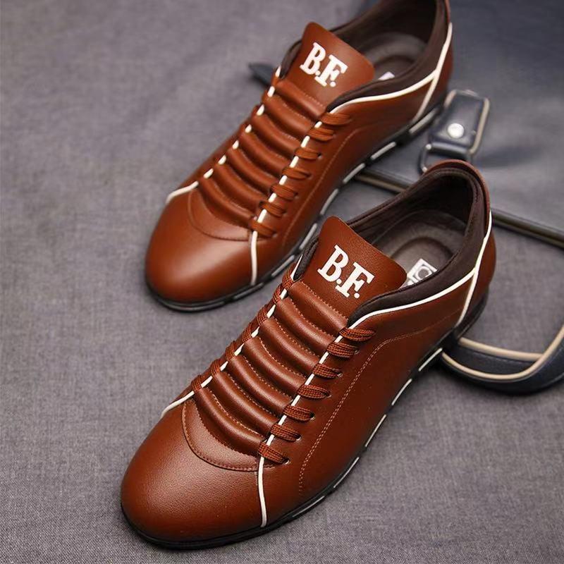رايزينغ حذاء رجالي للأعمال والمكتب لينة وحيد أحذية أنيقة حجم كبير حذاء رجالي كاجوال حذاء مسطح الاتحاد الأوروبي حجم 37-50