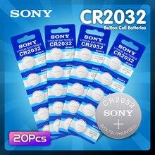 20Pcs Sony CR2032 Lithium Button Coin Batterijen 3V Cr 2032 DL2032 ECR2032 BR2032 Batterij Voor Horloge Elektronische remote