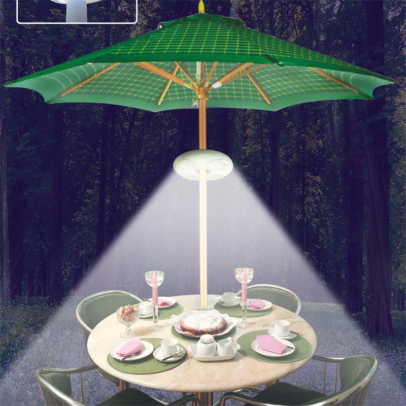 Супер светодиодная подсветка зонта светильник s садовый зонтик заряжаемый открытый консольный бассейн Беспроводная подставка светильник ...