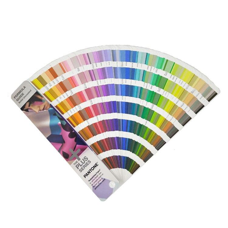 Бесплатная доставка 1867 сплошная серия Pantone Plus Formula color Guide Chip shade Book solid Uncoated Only GP1601N 2016 + 112 цветов
