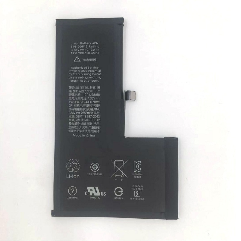 For Apple x XR xs Max mobile phone built-in lithium battery phone XS battery enlarge