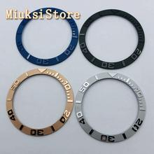38mm black blue rose gold gray ceramic bezel insert for 40mm sub automatic men's watch