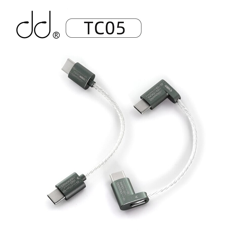 DD ddHiFi TC05 TypeC to Type C Upgraded Data Cable Connect USB-C Decoders /Music Players with Smartphones/Computer