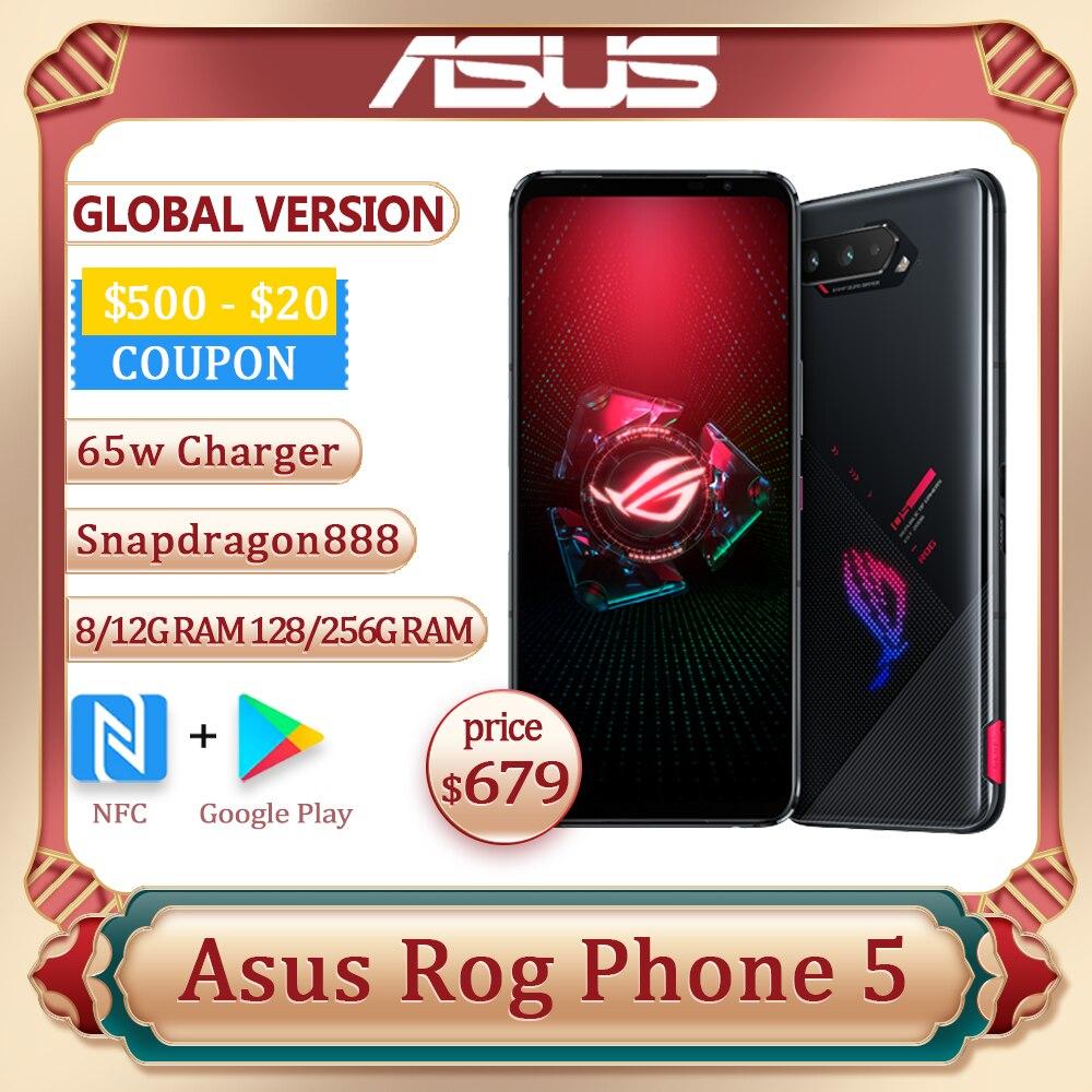 ASUS ROG телефон, 5 дюймов, Snapdragon 128 8/12/16 ГБ ОЗУ 256/6000 Гб ПЗУ, мАч, 65 Вт, NFC OTA