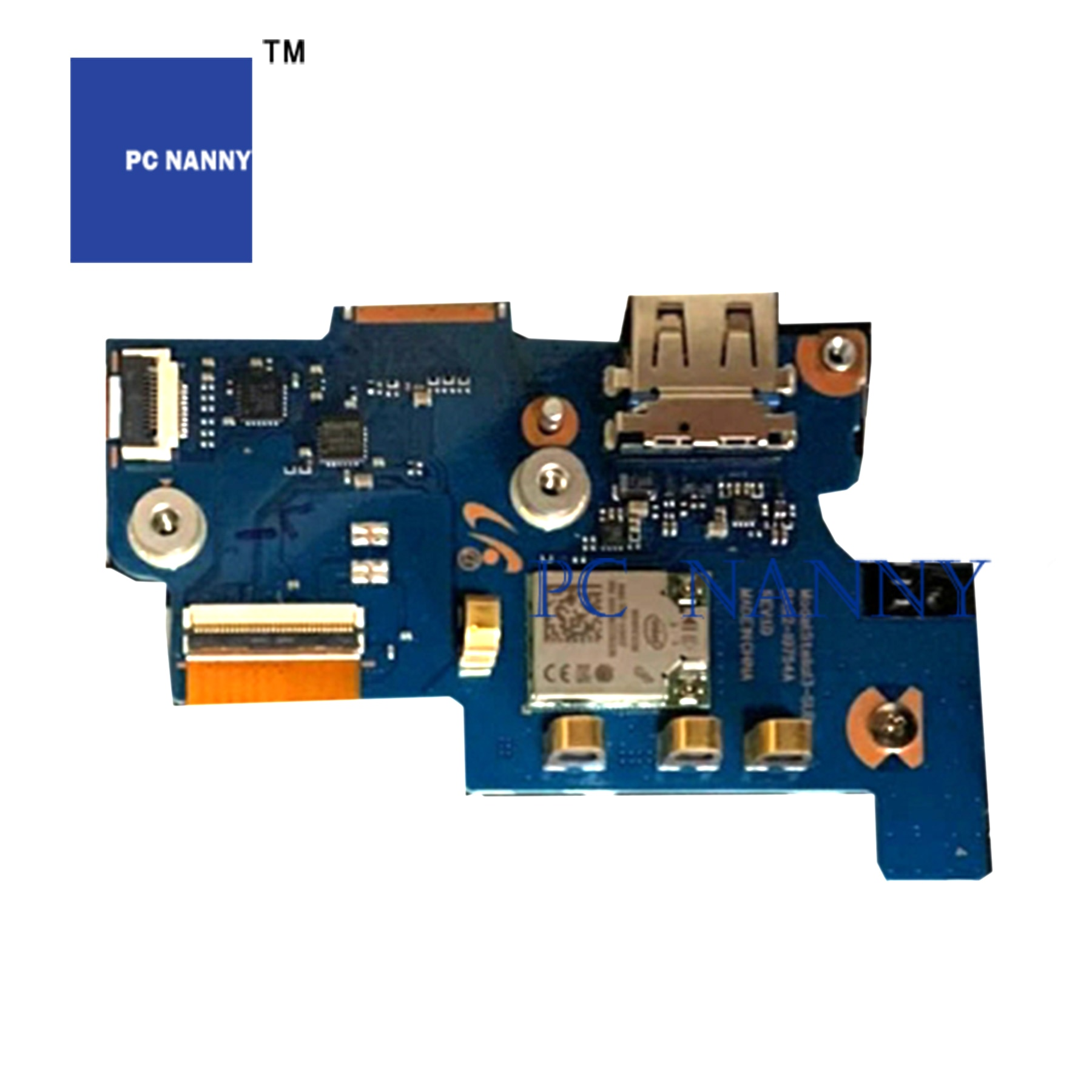 PCNANNY para NT730XBE NP730XBE, cable de alimentación lcd, cable usb, panel táctil,...