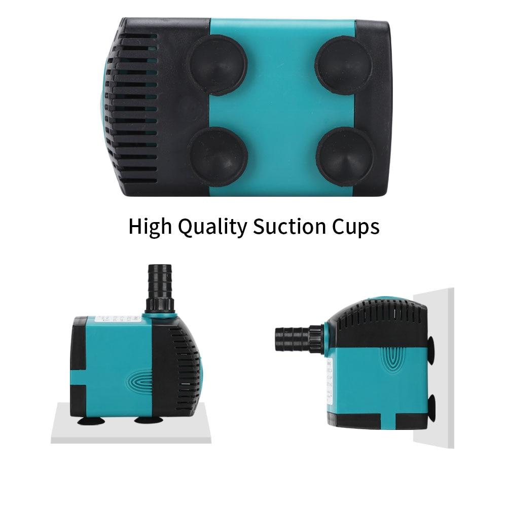 3W 6W 10W 15W 25W ultra tihi potopljeni filter pumpe za vodoskok za - Kućni ljubimci - Foto 6