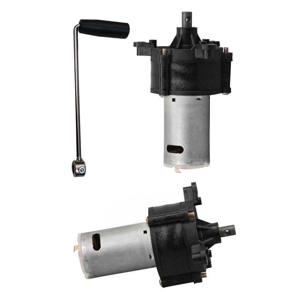 6 V-24 V Generator Miniatur Hand Kurbel 1500mA Notfall Wind Hydraulische Generator Dynamo Motor Für standby beleuchtung