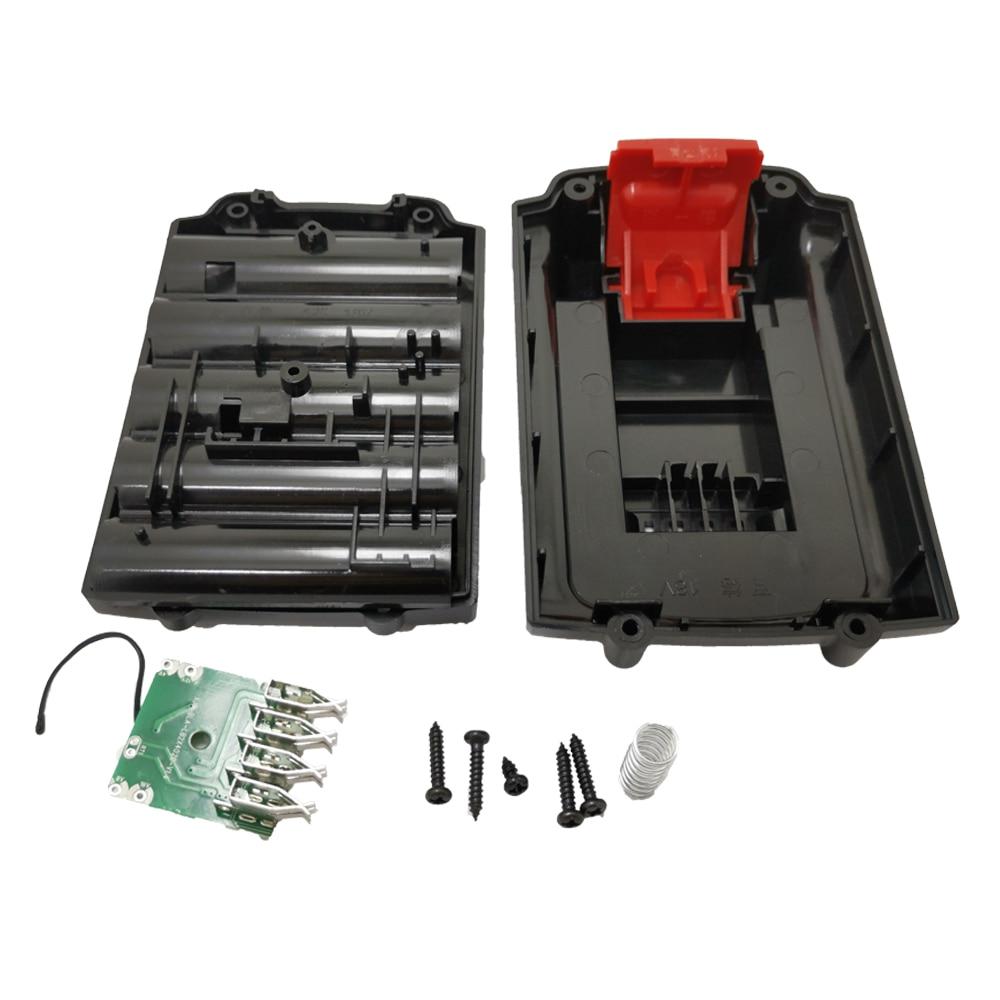 Para Black & Decker 18V li-lion Power Tool bateria Plastic Case (No bateria cells) A18 A1718 a18nm HPB18 HPB18 carcasa