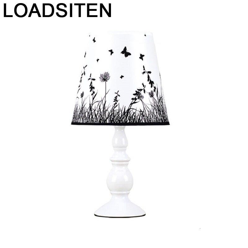 Lampada Da Tavolo Chambre Europea lámpara Para la vida Luminaria habitación De Mesa Deco Maison Abajur Para Quarto De Mesa Luz De noche