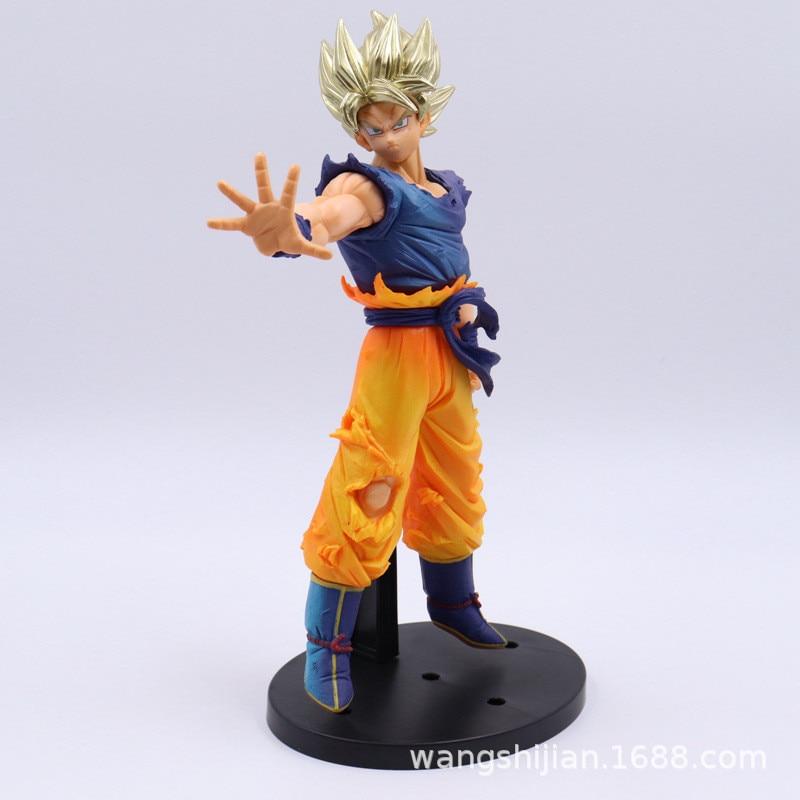 La bola del dragón del Anime Z Son Goku Super Saiyan sangre Ver PVC figura DE ACCIÓN DE DBZ colección modelo