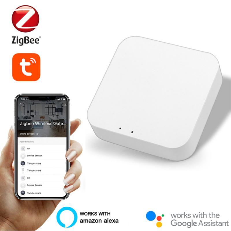 تاويا زيجبي الذكية بوابة المحور جسر المنزل الذكي الحياة الذكية APP اللاسلكية التحكم عن بعد الأسلاك مع أليكسا جوجل الرئيسية