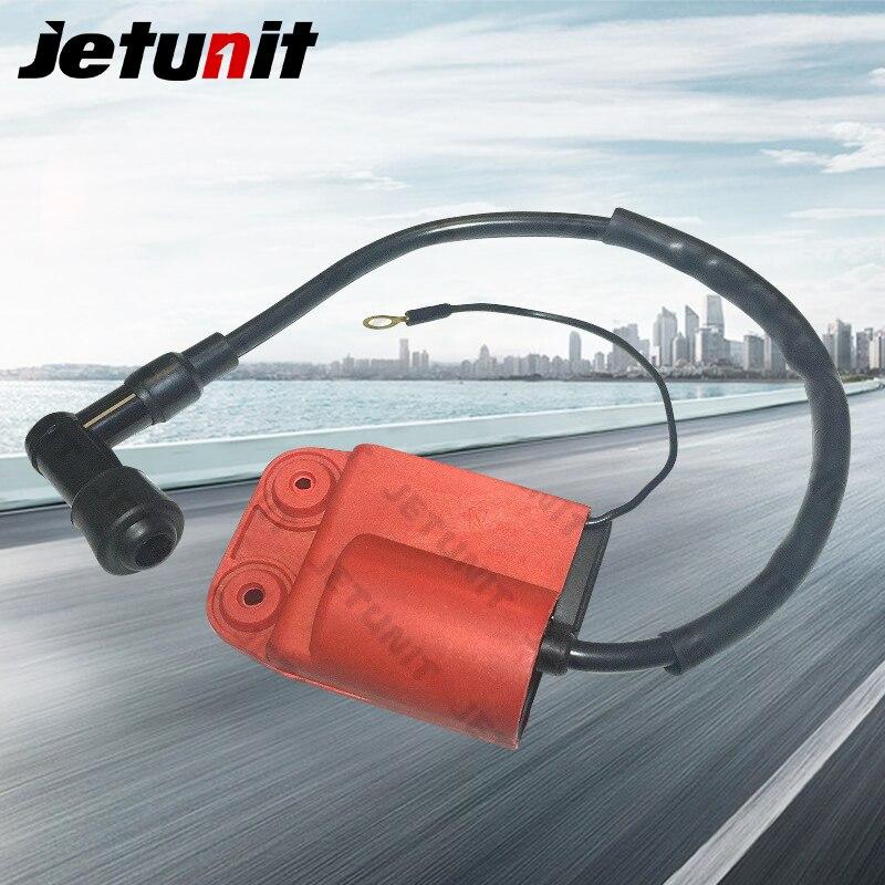 Jetunit 100% Премиум катушка зажигания CDI для Piaggio FREE FL/NRG MC3/ZIP RST/ZIP SP/50cc OEM #638678 мотоцикл электрический запчасти