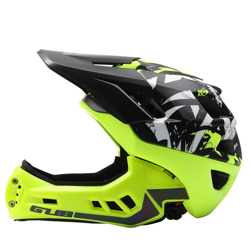 LazyChild Kids Trainer Bike Helmet Fullface All-terrain MTB Cycling downhi Children Bicycle Sports Safety OFF-ROAD Mountain