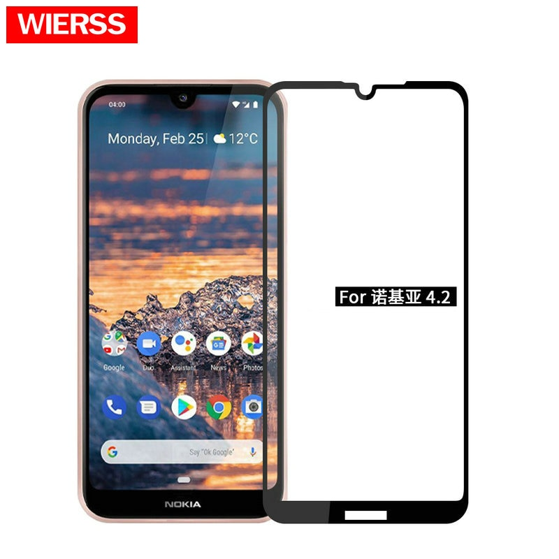 For Nokia 2.4 2.3 9D 6D 5D Full Glue Cover Tempered Glass Screen Protector CASE for Nokia 1.3 for No