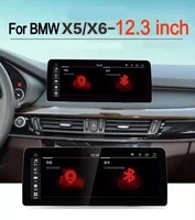 12 3 inch 8 core 64g rom android 10 0 system car gps navigation media stereo radio for bmw x5 f15 x6 f16 2014 2019 nbt evo