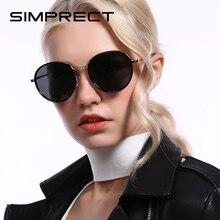 SIMPRECT Polarized Sunglasses Women 2020 Vintage Round Sunglasses Retro rb Brand Designer Sun Glasses Drivers Shades For Women