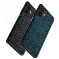 brand phone case for apple iphone 12 mini pro max crocodile texture genuine leather shockproof back cover