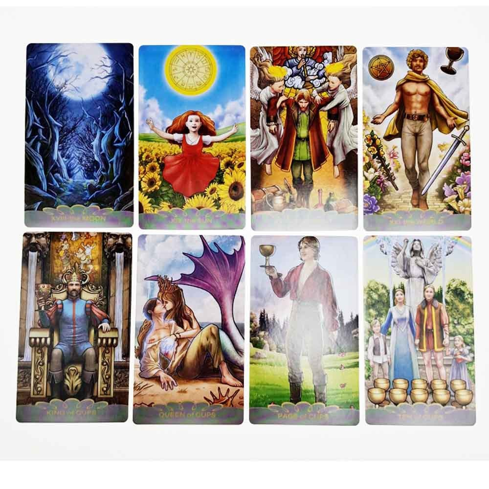 2021 Hot Sell Gregory Scott Tarot Cards 78Cards Tarot Cards For Divination Personal Use Full English Version Tarot 2021 hot sell dreaming way tarot cards 78cards tarot cards for divination personal use full english version tarot