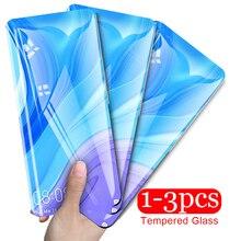 1-3PCS Tempered Glass for Huawei Y9 Y6 Y7 Prime Y9s Y5 Y6 Pro Screen Protector Film for Huawei Y6s Y