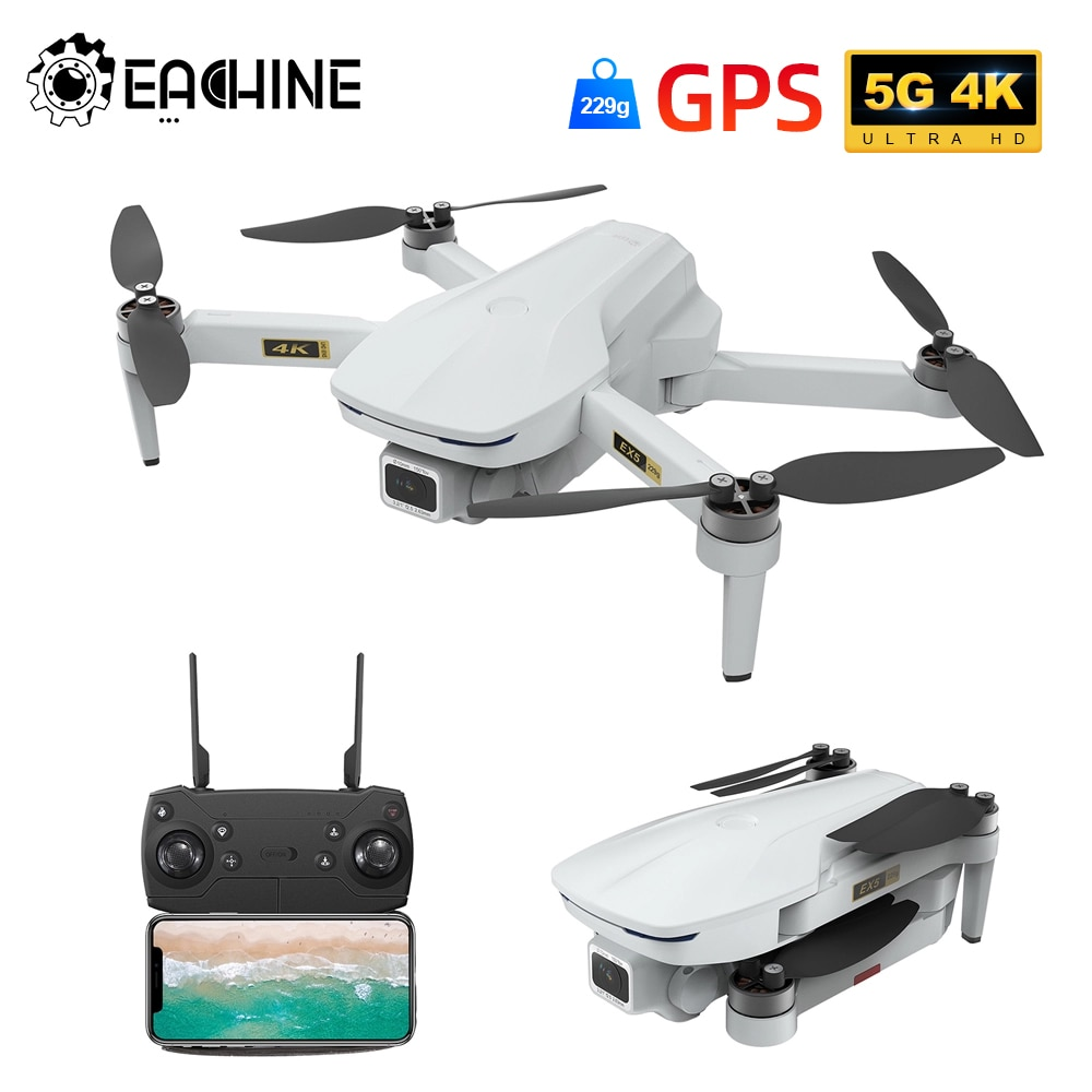 Eachine EX5 Drone 229g RC Quadcopter 4K GPS HD Mini Camera Profesional With 5G WIFI 1000 METERS Distance FPV Drone Protable Dron 2
