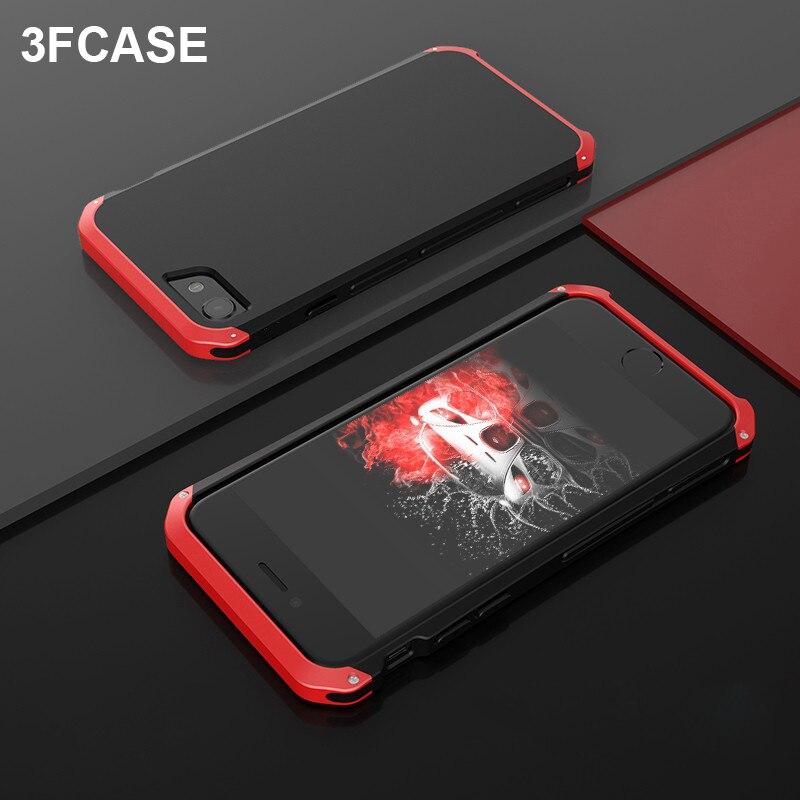 Metal armadura telefone capa para iphone se 2020 caso à prova de choque anit-queda de alumínio duro pc capa completa coque para iphone se 2020 funda