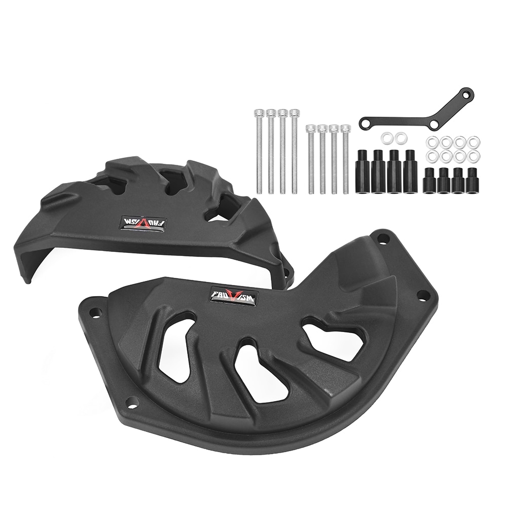 CBR500R CB500F CB500X cubierta del motor estator cubierta protectora para 2013, 2014, 2015, 2016, 2017, 2018, 2019 Honda CBR 500R CB 500F 500X deslizadores