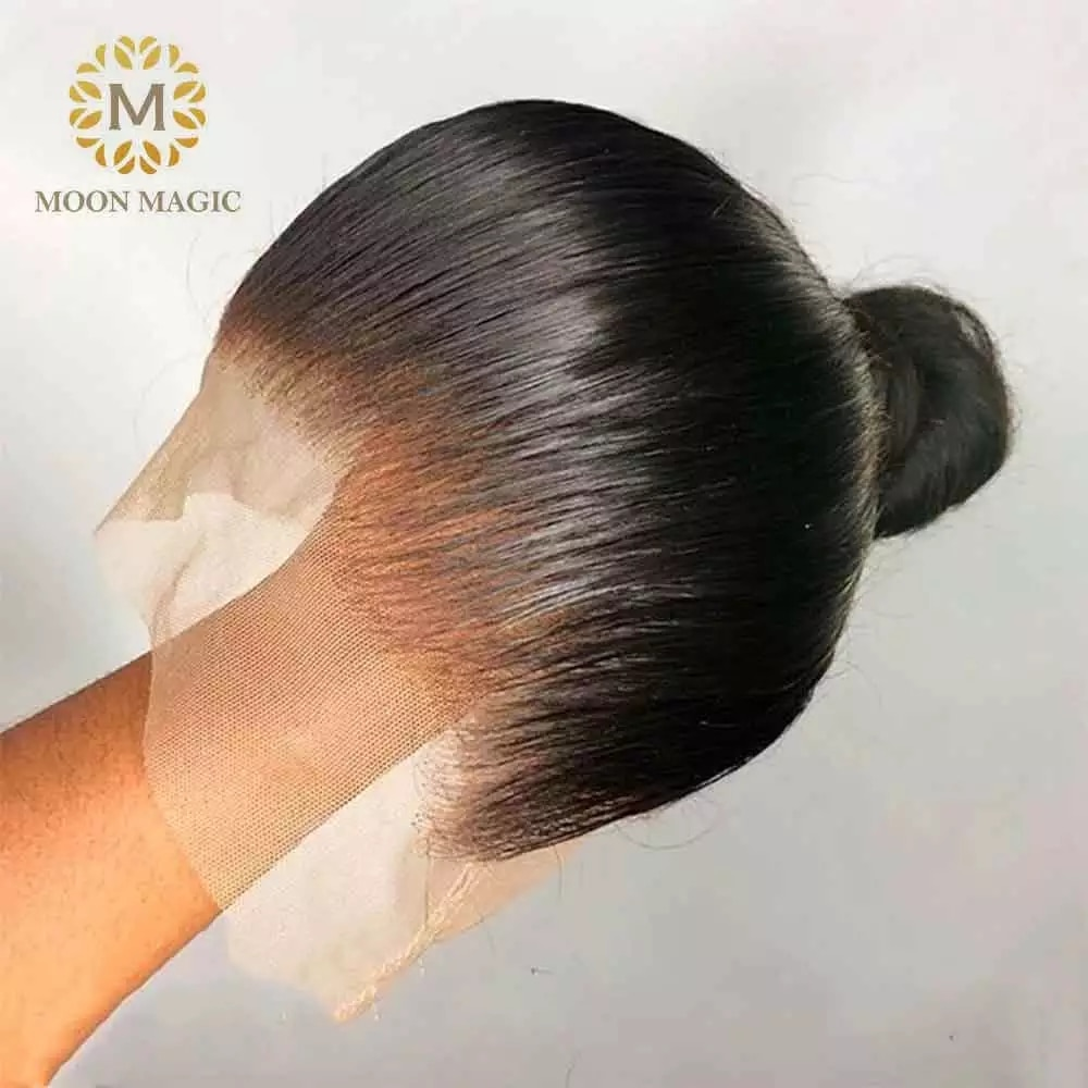 360 Lace Wig Preplucked 180 Density Lace Front Wig Straight Brazilian Hair With Baby Hair Ponytail Human Hair Wigs Long Wig Remy