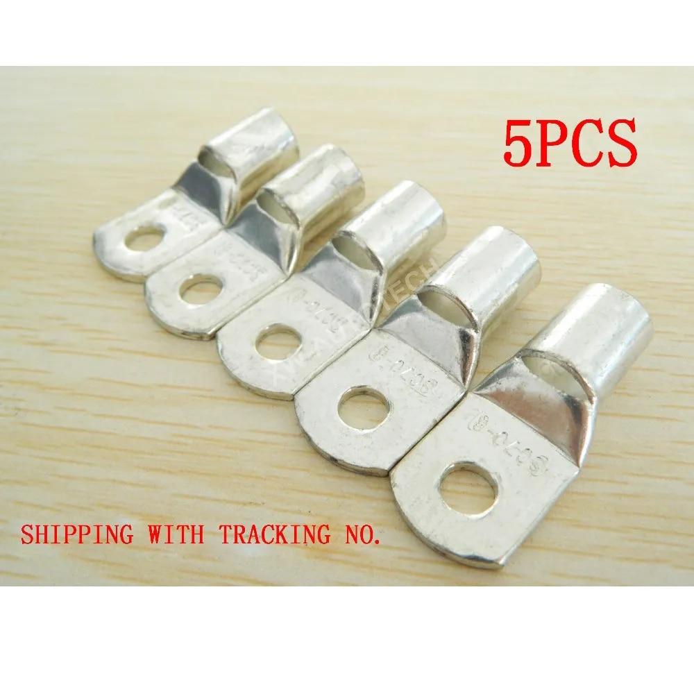 Connecteur de câble de batterie en cuivre SC70-8, 5 pièces, Terminal de calibre 2-0, déconnexion rapide pour haute puissance