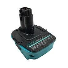 MAK1820 Adapter Converter Connector Use Mukita 18V Li-ion Battery BL1830 BL1860 on Dewault DC9096 Ni-cd Ni-mh Battery Tools