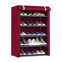 Dustproof Shoe Rack Large Size Shoes Organizer Non-Woven Fabric Shoes Rack Home Bedroom Shoemaker Shoe Racks Shelf Cabinet